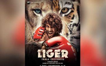 FIRST LOOK Of Liger Featuring Vijay Deverakonda OUT; Karan Johar Makes The Big Announcement With An Intense Poster