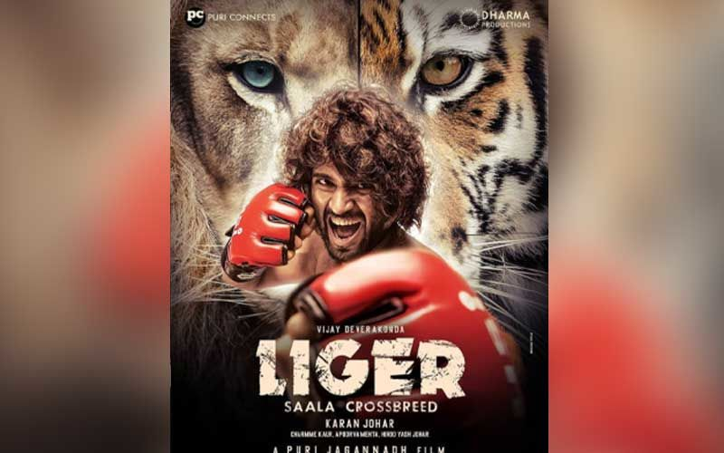 FIRST LOOK Of Liger Featuring Vijay Deverakonda OUT; Karan Johar Makes The Big Announcement With An Intense Poster