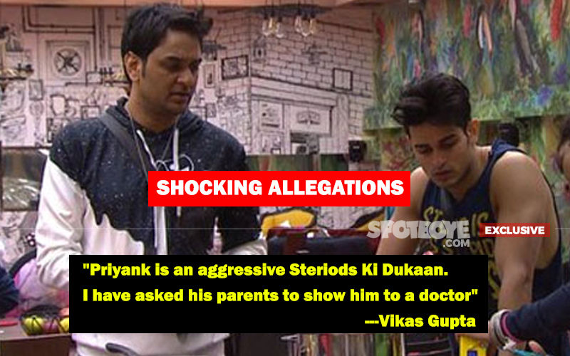 "Vikas Gupta Opens Up On Priyank Sharma's Fight With Him In JW Marriott; Says, ""He Takes Steroids And Needs A Doctor"""