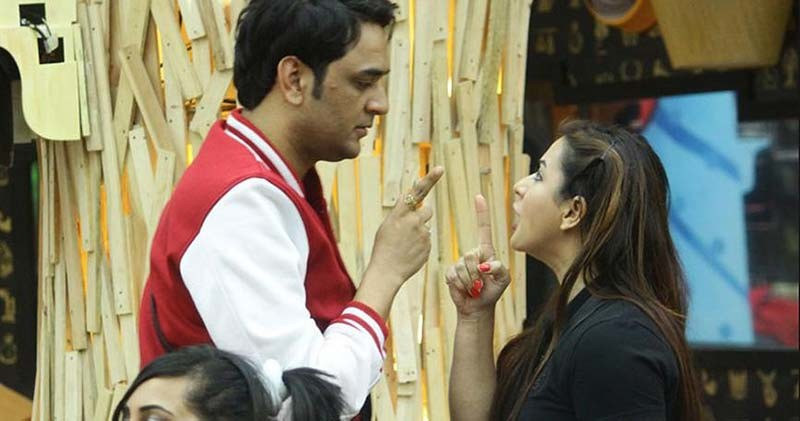 vikas gupta and shilpa shinde clash over dipika kakar