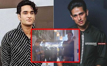 CAUGHT ON CAMERA: Vikas Gupta And Priyank Sharma ROYALLY IGNORE Each Other At Dabboo Ratnani's Calendar Launch- EXCLUSIVE