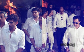 Vinod Khanna Bids Adieu; Bollywood Gathers At Funeral To Pay Last Respects