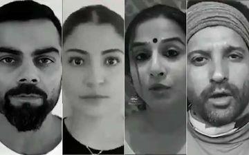 Lockdown On Domestic Violence: Virat Kohli, Anushka Sharma, Vidya Balan, Farhan Akhtar Join Hands; Appeal Citizens To Report Abuse At Home