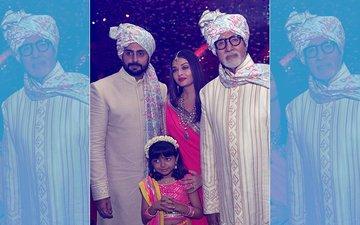 VIRAL VIDEO: Aishwarya Rai Bachchan & Abhishek Bachchan Dance With Little Aaradhya At A Wedding
