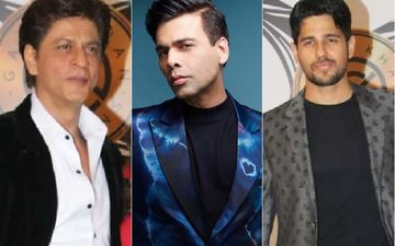 Suited Up Just Right- SRK Goes Monochrome, Karan Johar Dives Into ELECTRIC Blue, Sidharth Malhotra Opts For Polka Dots