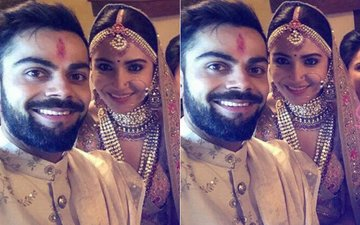 FIRST PICTURES From Tuscany: Meet Mr & Mrs Virat Kohli