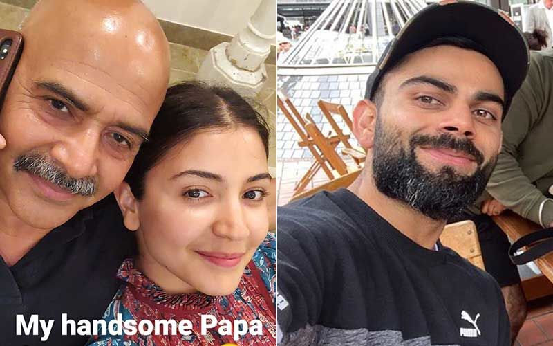 Anushka Sharma Bakes A Cake For Her Dad's Birthday That Doesn't 'Rise Much'; Gets 'Bestie' Virat Kolhi Very Hungry