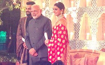 Virushka's Wedding Reception: The Big Moment Is Here, PM Narendra Modi Attends