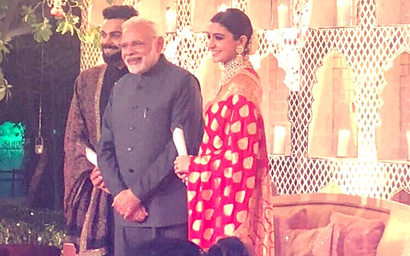 Virushka's Wedding Reception: The Big Moment Is Here, PM Narendra Modi Attends