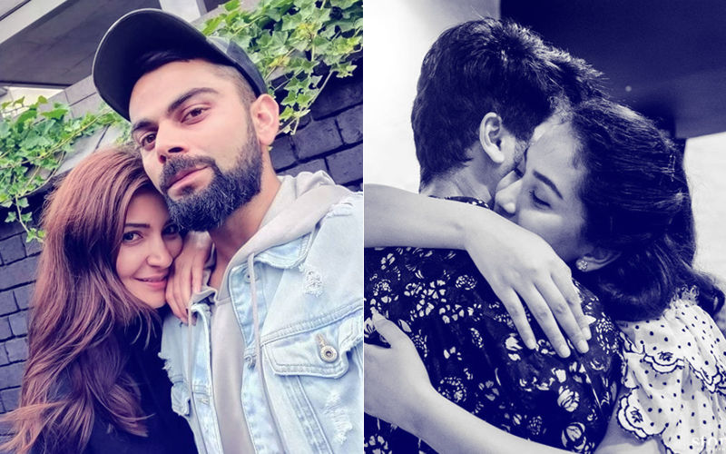 When Anushka Sharma-Virat Kohli & Mira Rajput-Shahid Kapoor Got High On Romance