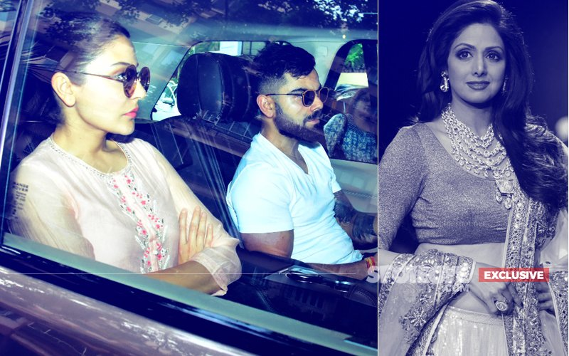 Virat Kohli & Anushka Sharma Visit Boney Kapoor To Offer Condolences For Sridevi's Untimely Demise