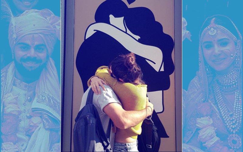 OUT IN THE OPEN: Check Out Virat Kohli & Anushka Sharma's KISS
