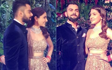 VIRAT-ANUSHKA MUMBAI RECEPTION: Newlyweds Shine In Sabyasachi One More Time!