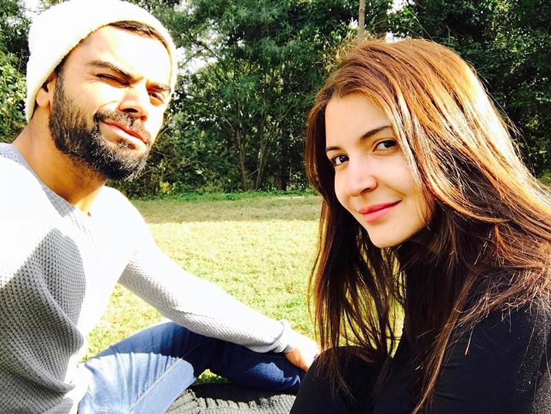 virat kohli and anushka sharma take a selfie
