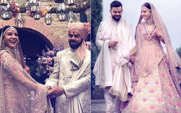 Virat-Anushka's WEDDING Ceremony: Actress' BRIDAL OUTFIT Is Every Girl's DREAM...