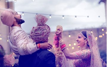 VIDEO: Virat Kohli Acts NAUGHTY With His Bride Anushka Sharma...