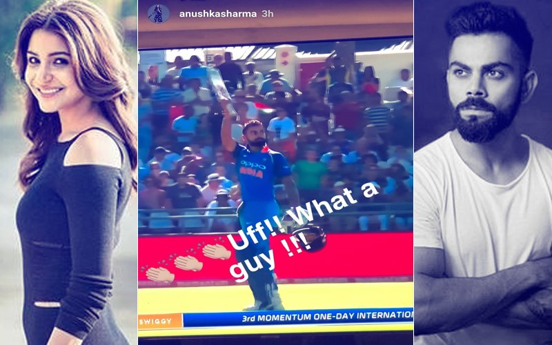 'Uff!!What A Guy!!!' We Echo Anushka Sharma's Sentiment As Virat Kohli Smashes 34TH ODI Ton