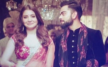 Virat Kohli Can't Stop Looking At Anushka Sharma As They Shoot Together