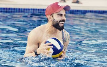 Virat Kohli Posts A Hot Work Out Video But Cricketer Kevin Pietersen Is More Concerned About His Dangerously Low Shorts