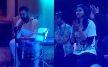 VIRUSHKA WEDDING: Virat Kohli Sings Mere Mehboob For Anushka Sharma & We Are FLOORED!