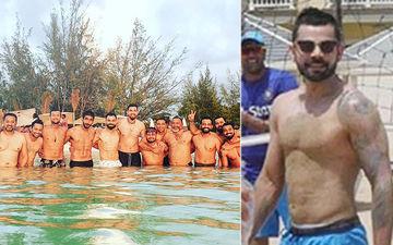 Virat Kohli, Rohit Sharma, KL Rahul, Jasprit Bumrah Go Shirtless; Soak In The Sun at Jolly Beach, Antigua