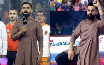 Seek Fashion Inspo From Virat Kohli; Indian Skipper In His Element At The Pro Kabaddi League