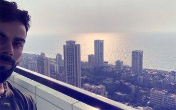 Check Out The View From Virat Kohli & Anushka Sharma's Sea-Facing Apartment
