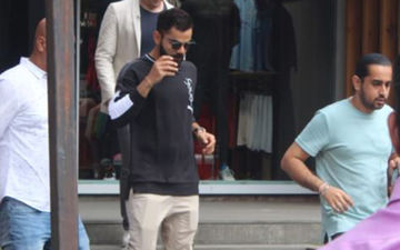 Virat Kohli Spotted Shopping Sans Anushka Sharma At A Store In Mumbai, Days After Returning From London