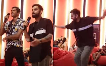 IPL 2020: Virat Kohli's RCB Enjoy Pool Volleyball And Karaoke Night; Captain Kohli's Bhangra On 'Dil Le Gayi Kudi' Is Unmissable-VIDEO