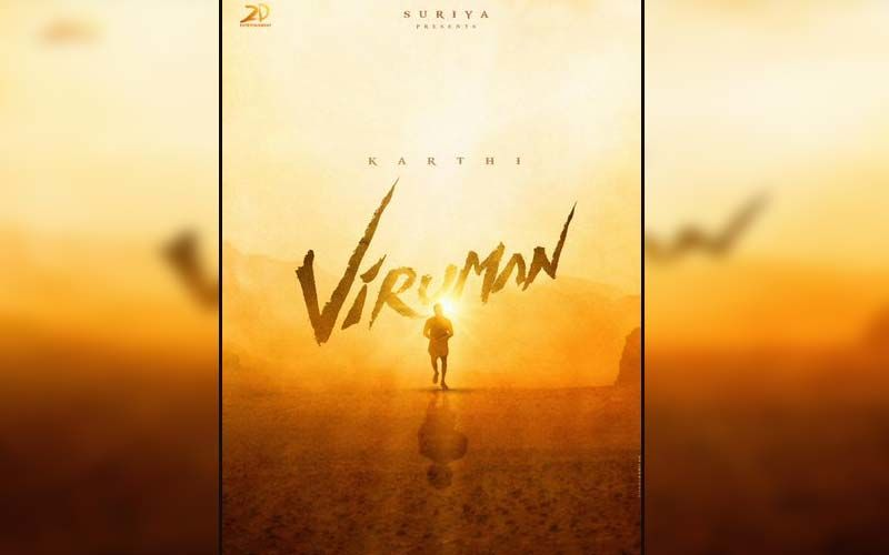 Viruman: Actor Karthi Unveils His Next, A Tamil Family Entertainer Directed By Director Muthaiya