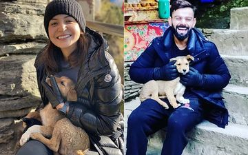 Anushka Sharma And Virat Kohli Make A New Friend In Bhutan