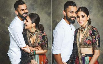 Anushka Sharma And Virat Kohli Give A Peek Into Their House As They Perform Diwali Puja- VIEW PICTURES