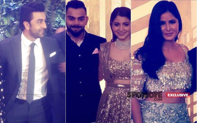 VIRAT-ANUSHKA MUMBAI RECEPTION: Ranbir Kapoor Came Face-To-Face With Katrina Kaif, What Happened Next?