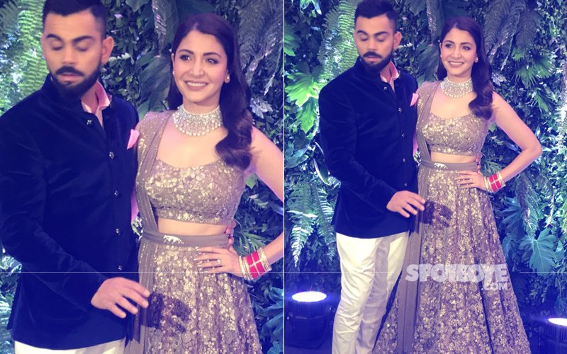 VIRAT-ANUSHKA MUMBAI RECEPTION: Mr & Mrs Kohli Make A Grand Entry