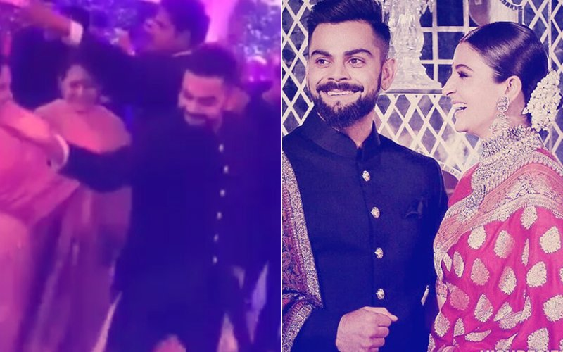 INSIDE VIDEOS From Virat-Anushka's Delhi Reception Prove That It Was A CRAZY Night!