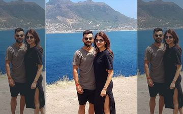 Anushka Sharma's Black Beach Dress Is Rocking Our World And Virat Kohli's Too; Wink Wink