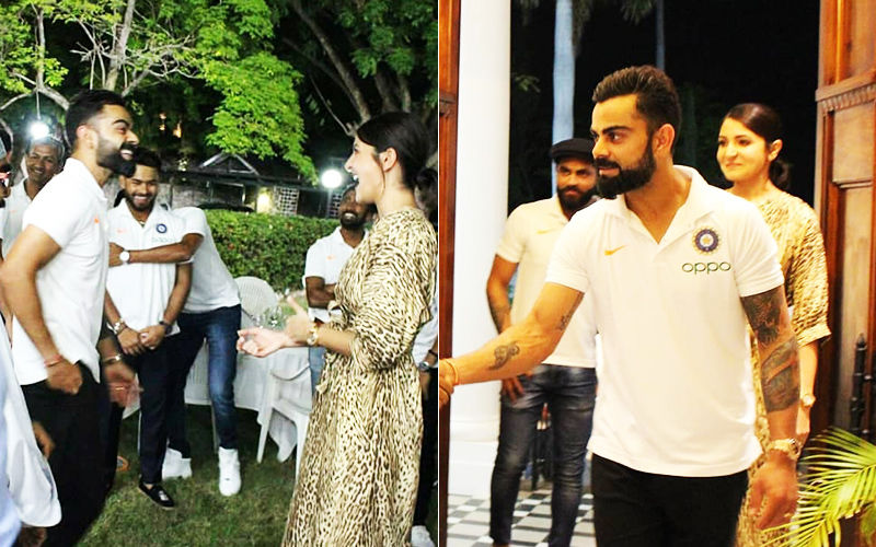 Virat Kohli-Anushka Sharma Have A Gala Time Along With Team India At Indian High Commissioner's Residence In Jamaica