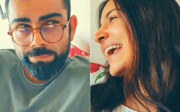 Anushka Sharma Gives Virat Kohli The Experience Of Being On Field; Yells 'Aye Kohli, Chauka Maar'; Indian Captain Is Not Amused - WATCH