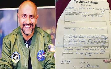 Want To Know What Vishal Dadlani's Standard 4 Report Card Says? Read Inside