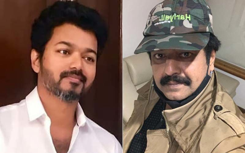 Thalapathy Vijay Offers His Condolence To Late Actor -Comedian Vivek By Paying A Visit To His House