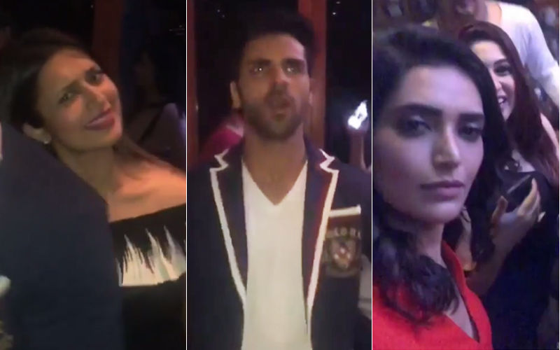 Vivek Dahiya's Birthday Party Was Full Of Naach Gaana - Check Out Inside Videos