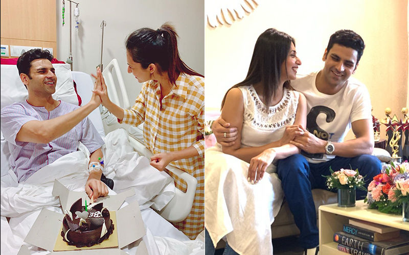 Divyanka Tripathi Heaves A Sigh Of Relief As Hubby Vivek Dahiya Returns From The Hospital; Actress Welcomes Him In A Special Way