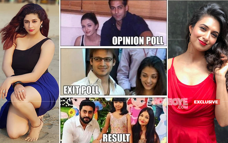 Vivek Oberoi's Meme On Aishwarya Rai: Vahbiz Dorabjee And Divyanka Tripathi's Chalk And Cheese Contrast