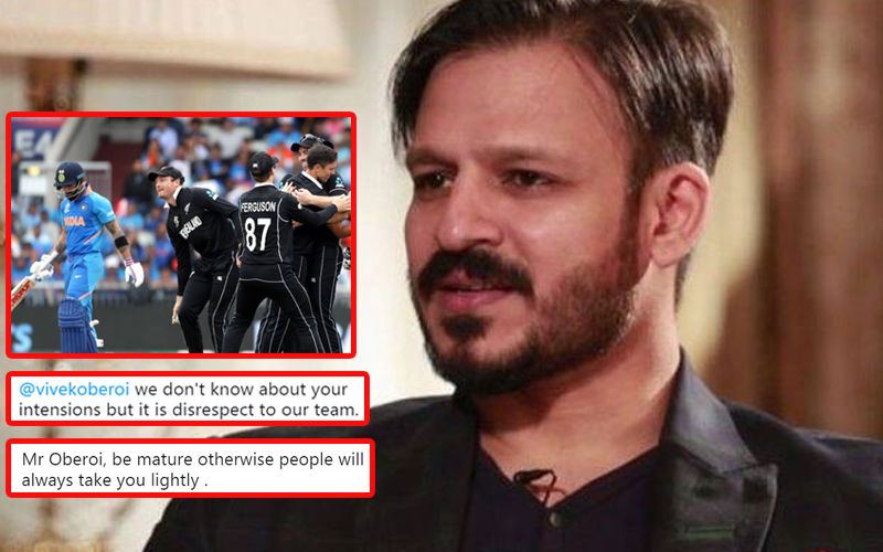 Vivek Oberoi Tweets A Nasty GIF On India's World Cup Exit; Gets Trolled Massively