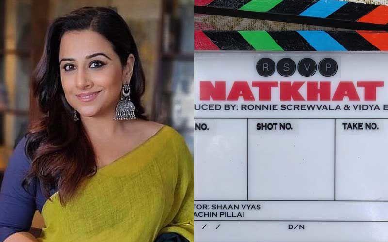 Vidya Balan's First Short Film Natkhat Goes On Floors!