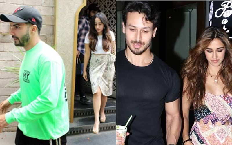 It's A Date! Varun Dhawan-Natasha Dalal And Tiger Shroff-Disha Patani Sneak In Some Couple Time – Pics Inside