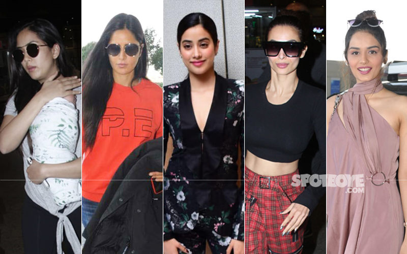 STUNNER OR BUMMER: Mira Rajput, Katrina Kaif, Janhvi Kapoor, Malaika Arora Or Manushi Chhillar?