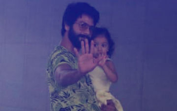 Shahid Kapoor Takes Misha To Meet Her Little Brother