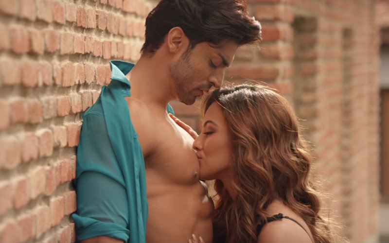 Another Soft Porn Dose From Sana Khan In Wajah Tum Ho Title Track