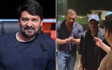 Salman Khan Remembers Wajid Khan On His Birth Anniversary; Celebrates His B'day With Brother Sohail And Sajid Khan